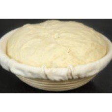 Natural Rattan Basket (Banneton) for Bread Baking, Round, d=25cm, before 1000 g dough