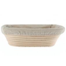 Oval Dough Proofing Basket, 28x15х8 cm, up to 0.75 kg of dough, Rickenbacker (Austria)