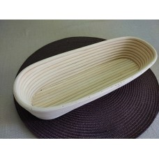 Oval Dough Proofing Basket, 28x14х8 cm, up to 0.7 kg of dough, Rickenbacker, Austria