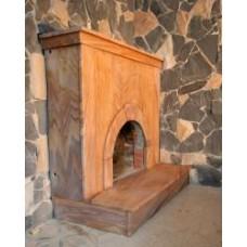 Fireplace sandstone Rainbow India