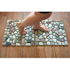 The massage mat pebbles, 45x93 cm