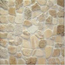 Pebbles tumbled travertine (mosaic)