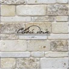 "Antique travertine, tiled tiles ""Antique brick"""