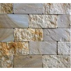 Sandstones tan and white-red
