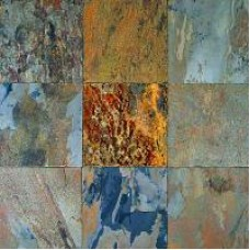 """Slate """"Rustic» (Indian Autumn Multicolor)"""