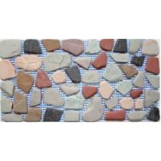 """Mosaic on the grid """"gravel mix"""""""