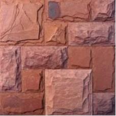Sandstone claret-red